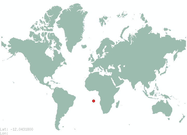 Lima in world map